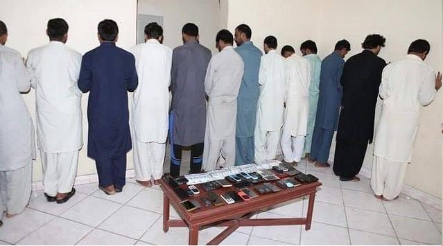 5685 A gang arrested for SMS fraud in Riyadh