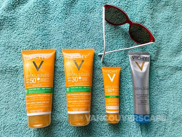 Vichy summer skincare