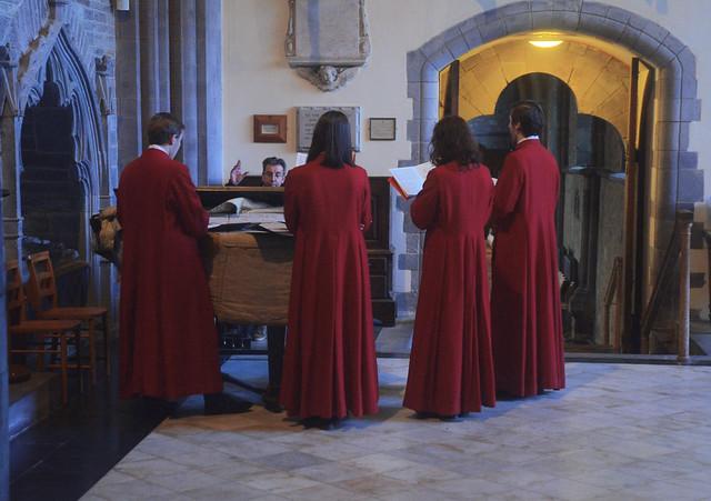 Practice around the Piano