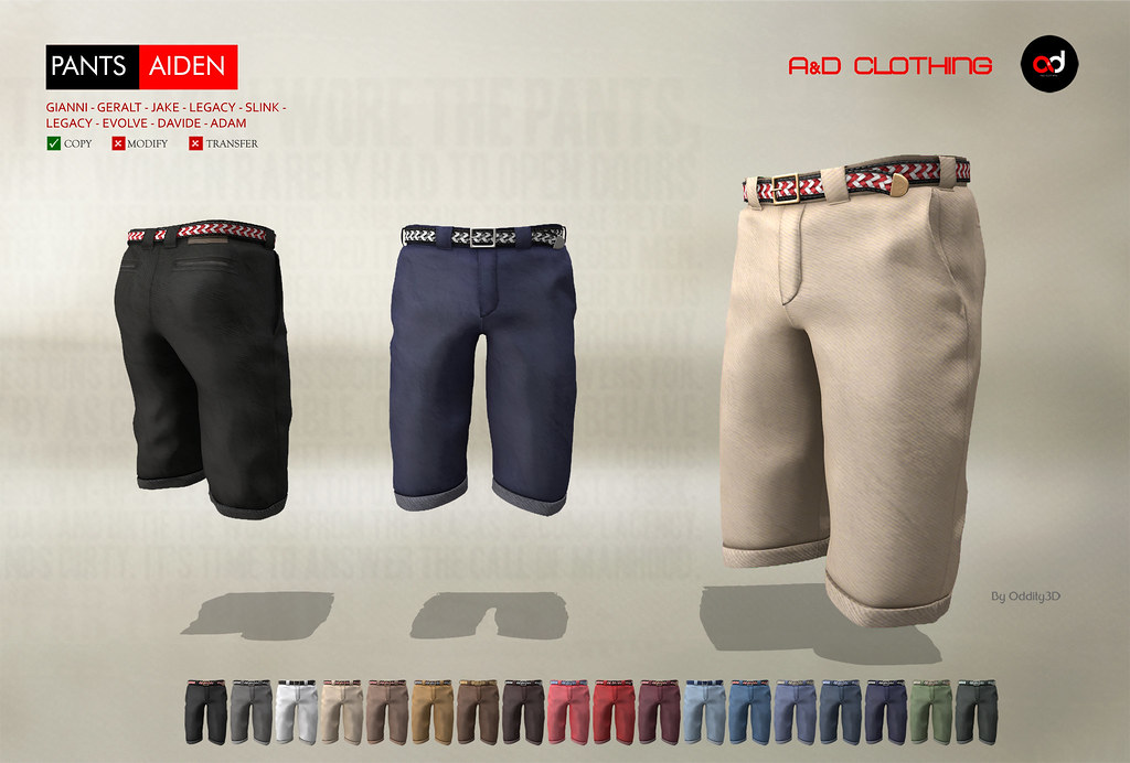 ! A&D Clothing – Pants -Aiden-   NewRelease