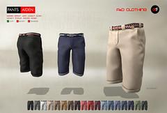 ! A&D Clothing - Pants -Aiden-   NewRelease