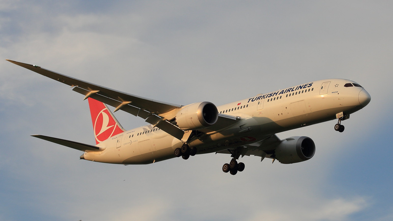 Обои Turkish airlines, В полете, boeing-777, Самолёт. Авиация foto 17