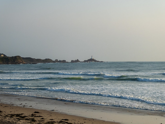 Corbiere Lighthouse at St Ouen