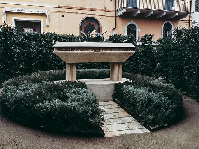 могила Караваджо