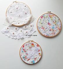 lace cloth, pattern and stitch