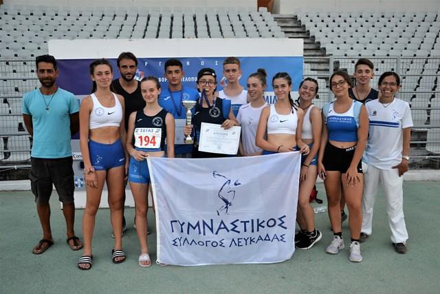 Δύο νέοι πανελληνιονίκες για το Γυμναστικό Σύλλογο Λευκάδας