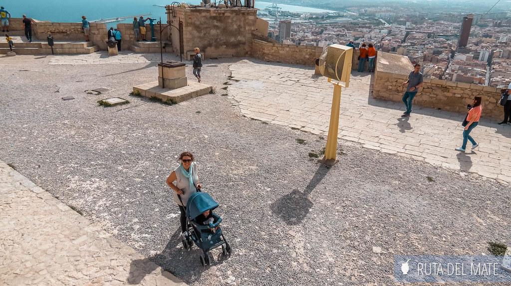 Castillo de Santa Bárbara, Alicante con niños