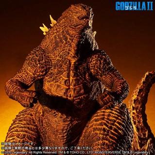X-PLUS Gigantic Series《哥吉拉2:怪獸之王》紅蓮哥吉拉(2019) ギガンティックシリーズ  バーニングゴジラ(2019)