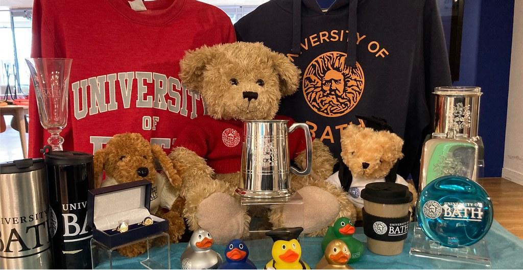 University merchandise