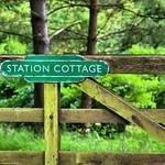 Memory of an old raiway staion, Wharram-le-Street