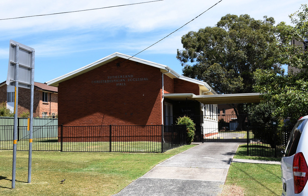 Christadelphian Ecclesial Hall, Sutherland, Sydney, NSW.