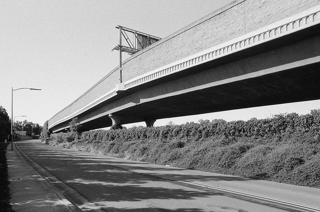 Taylor Street overpass of Guadalupe Parkway