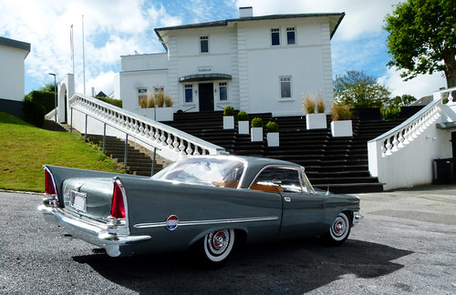 Chrysler 300C Coupe 1957 in the hills