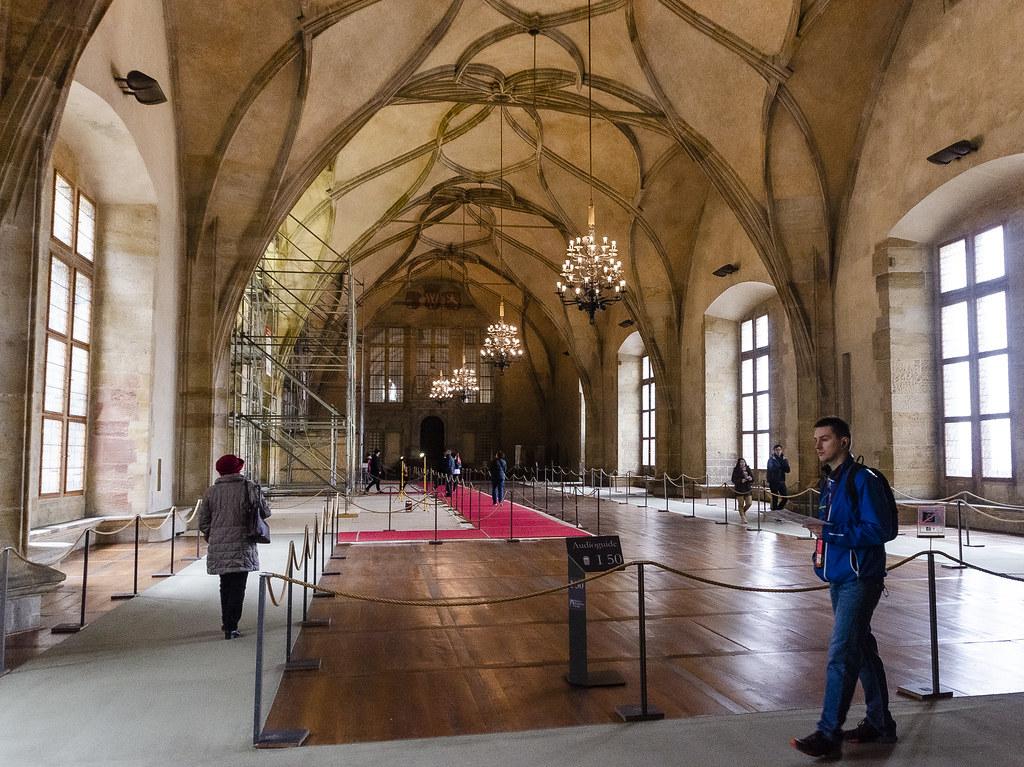 Empty Halls of Prague Castle
