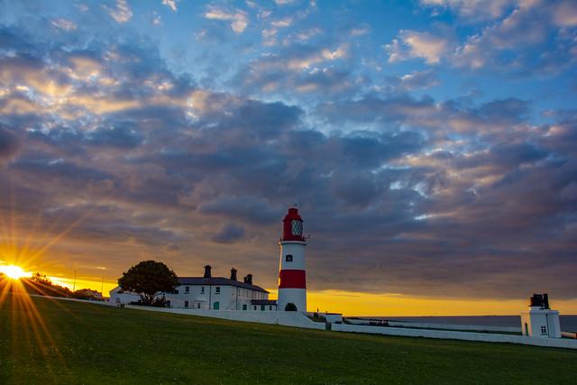Souter Lighthouse Sunset 1