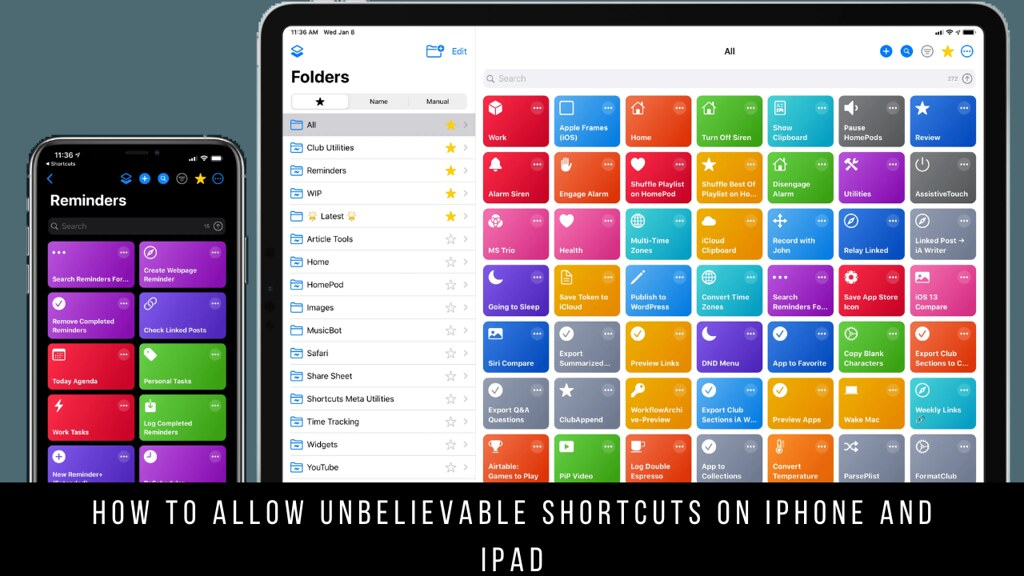 How to Allow Unbelievable Shortcuts on iPhone and iPad