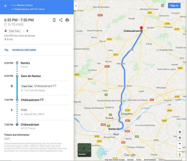 Tram-train de Nantes à Châteaubriant