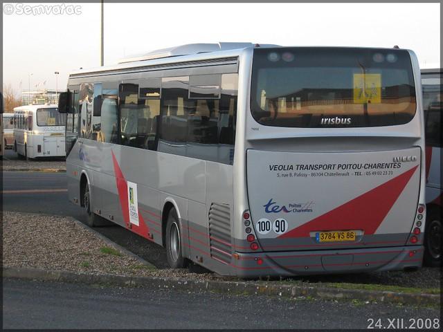 Irisbus Arway – Veolia Transport – Poitou-Charentes / Poitou-Charentes n°7652