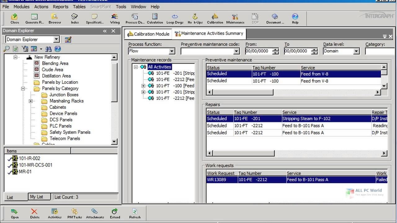 Working with Intergraph SmartPlant Instrumentation 2013 full license
