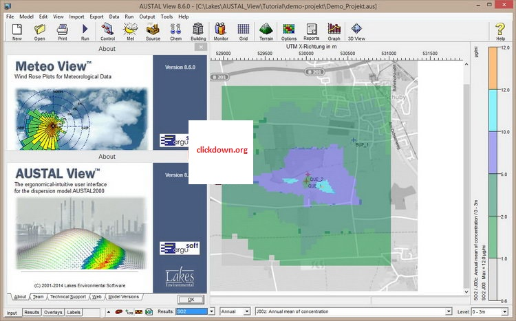 Working with Lakes Environmental AUSTAL View 8.6.0 full