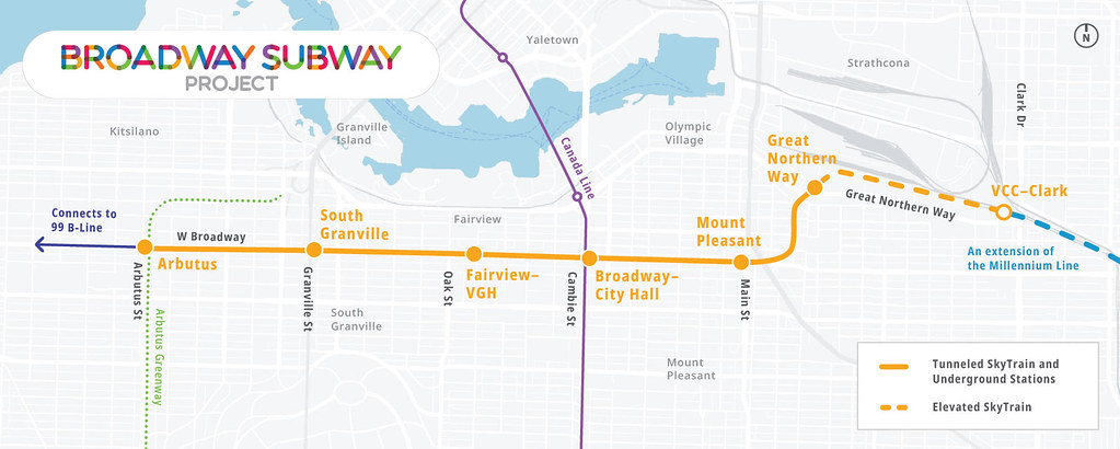 Preferred proponent team chosen for Broadway Subway Project