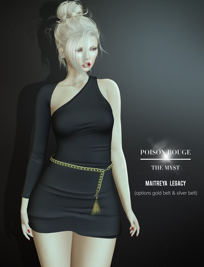 POISON ROUGE The Myst Dress @Tres Chic