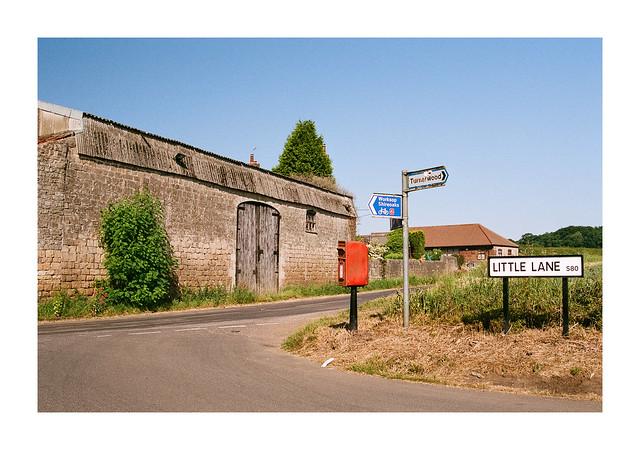 The corner of Little Lane