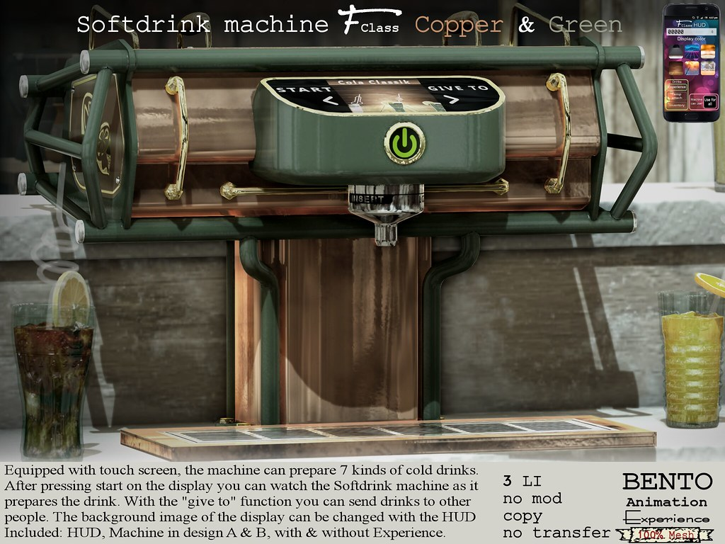 F-Class Softdrink Machine
