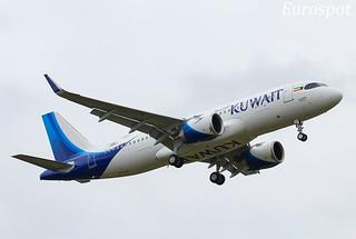 F-WWBI Airbus A320 Neo Kuwait Airways