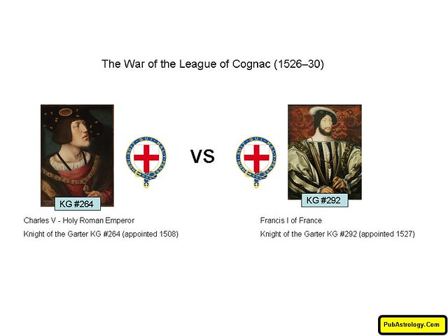 War of the League of Cognac 1526 to 1530_