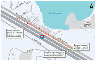 NW Sammamish Rd traffic revision | by WSDOT