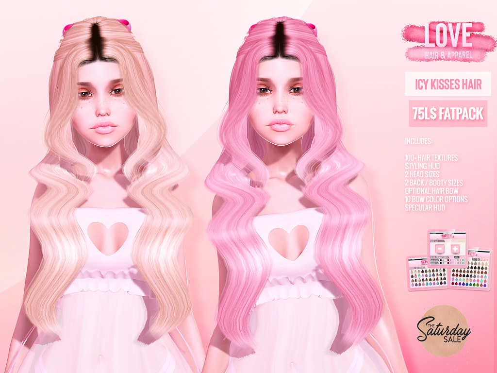 Love [Icy Kisses] ✨💖 75L Hair Fatpack 💖✨ @ The Main Store – The Saturday Sale! 7/18