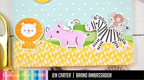 Jen Carter Born to Be Wild African Animals Scene Closeup 2
