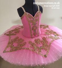 Pink Gold Tutu