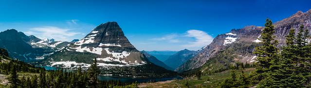 Bearhat Mountain, Hidden Lake, and the Hidden Creek Valley