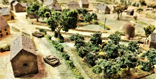 Pz IVs covering the east flank