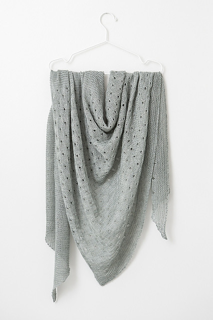 Summer Meadow by Janina Kallio is knit using 2 skeins of The Fibre Co. Meadow or approximately 961 yards of light fingering.