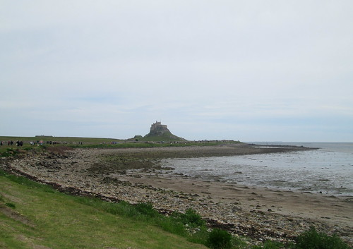 Lindisfarne Castle from Village