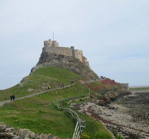 Lindisfarne Castle, Holy Island, National Trust