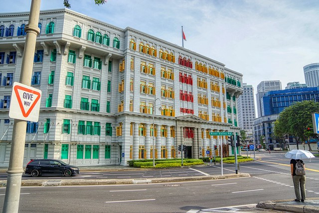 Old Hill Street Police Station in Singapore
