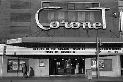 Coronet Theatre, Toronto, 1981