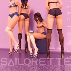 Pure Poison - Sailorette - Wanderlust Weekend, 50L