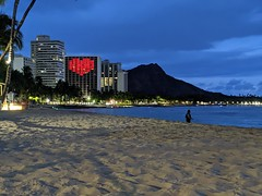 Waikiki taken on 2020-07-01T19:44:11-08:00 by shortysgirl182
