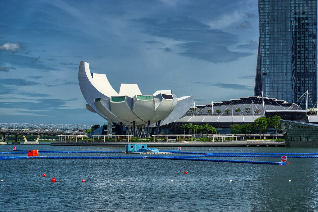 Arts & Science Museum by the Marina Bay in Singapore