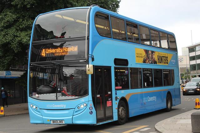 National Express Coventry ADL E40D (ADL Enviro 400) 4883