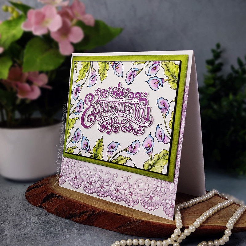 Calla Lily Especially For You Card_Nupur Priya_02