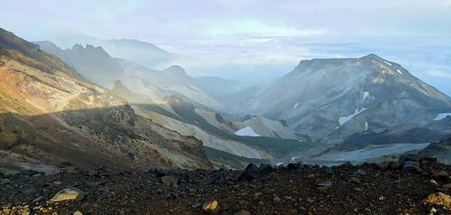 japan hiking volcano landscapes tokachi travel hokkaidó daisetsuzan