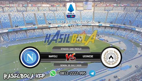 Prediksi Bola Napoli vs Udinese 20 Juli 2020