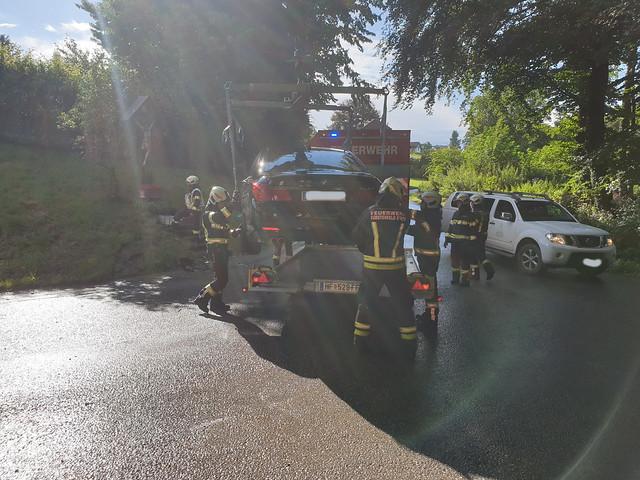 Verkehrsunfall in Stadtbergen 18.07.2020