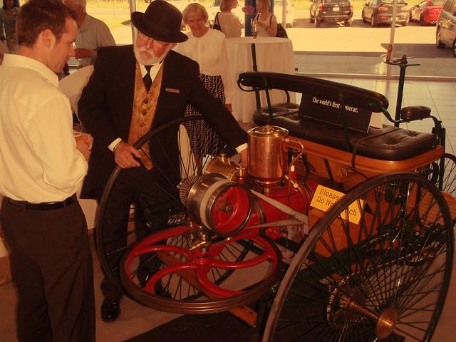 Benz .... World's First Motorcar